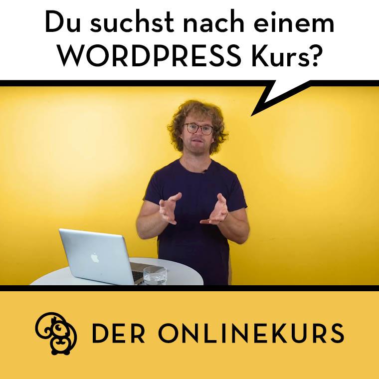 WordPress Videoworkshop mit David Bolius