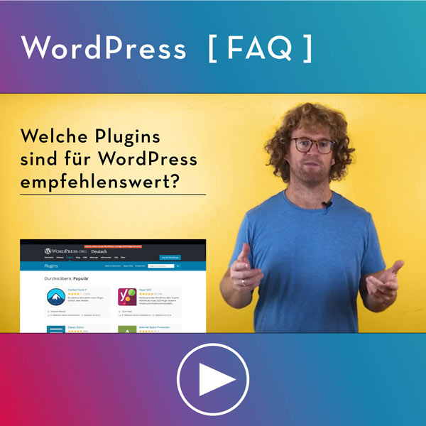 FAQ-WordPress-Infos-Welche-Plugins-sind-gut