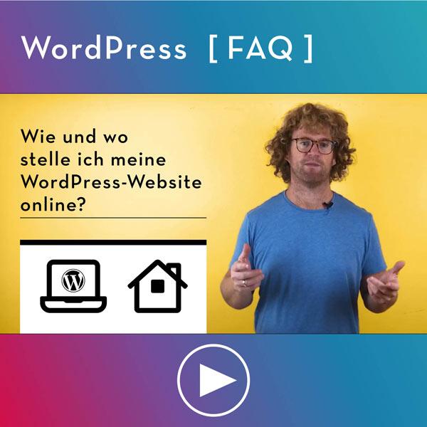 Bei welchen Provider mache ich meine WordPress Seite