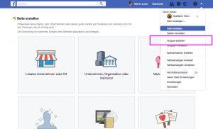 Facebook Gruppen Page