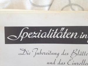 Suche Hilfe beim Font erkennen – wer kennt diese Schrift?