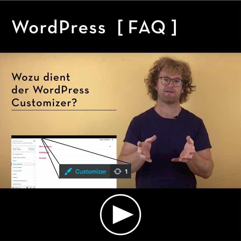 FAQ-Wozu-dient-der-WordPress-Customer