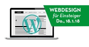 Beispiel für die Ankündigung eines WordPress Workshops von Grafiker in Wien